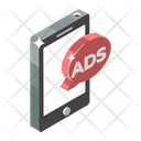 Mobile Ads Mobile Marketing Mobile Advertisement Icon