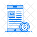 Mobile Ads Digital Marketing Online Marketing Icon