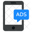 Mobile Ads Mobile Advertisement Mobile Publicity Icon