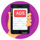 Phone Ads Mobile Ads Mobile Content Icon