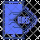 Mobile Ads Ads Mobile Icon