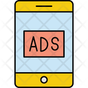 Mobile Ads Ads Advertising Icon