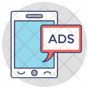 Mobile Ads Marketing Icon