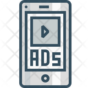 Mobile Ads Advertising Icon