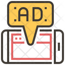 Mobile Advertise Icon