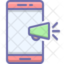 Mobile Marketing Advertising Icon