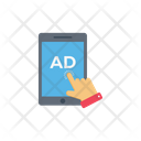 Ad Mobile Advertise Icon
