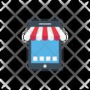 Mobile Advertise Marketing Icon