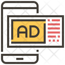 Mobile Advertise Ad Icon