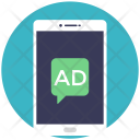 Mobile Advertisement Icon