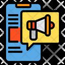 Mobile Advertisement Icon