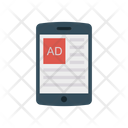 Ads Mobile Advertisement Icon