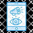 Mobile Advertisement Phone Icon
