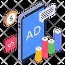 Digital Ad Mobile Ad Online Ad Icon