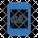 Ad Mobile Media Icon