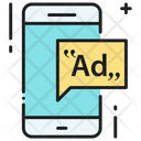 Mobile Advertising Advertisement Ad Icon