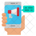 Smartphone Promotion Advertising Icon