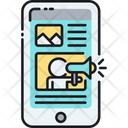 Mobile Advertising Advertising Banner Ad Icon