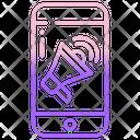 Mobile Advertising Icon