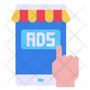 Mobile Shop Hands Icon