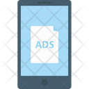 Mobile Advertising Icon