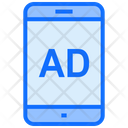 Mobile Advertising Mobile Media Icon