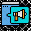 Mobile Advertising Mobile Advertising Icon