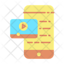 Mobile Advertising Video Icon