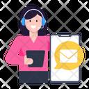 Customer Services Customer Support Customer Consultant Icon
