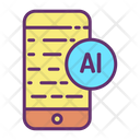 Mobile Ai Icon