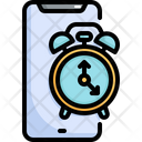 Clock Time Mobile Icon
