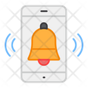 Mobile Alarm Mobile Bell Mobile Notification Icon