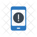 Mobile Warning Alert Icon