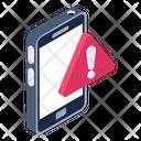 Mobile Error Mobile Alert Mobile Warning Icon