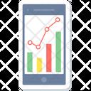 Mobile Analysis Analytics Mobile Icon