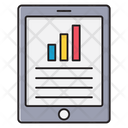Chart Analytic Mobile Icon