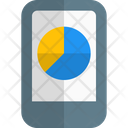 Mobile Analysis Online Analysis Online Graph Icon