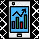 Mobile Analysis Mobile Chart Chart Icon