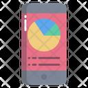 Mobile Analysis Online Analysis Online Analytics Icon