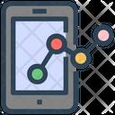 Seo Web Charts Icon