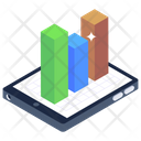 Online Analytics Mobile Analytics Business App Icon