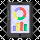 Data Analytics Mobile Analytics Infographic Icon