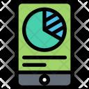 Mobile Analytics Finance Icon
