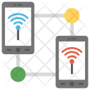 Mobile and Wireless Networking Icon