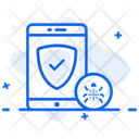 Mobile Antivirus Anti Malware Mobile Security Icon