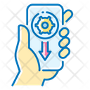 Mobile App Application Hand Icon
