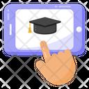 Education App Mobile App Mobile Education Icon