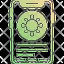 Mobile App Medical App Coronavirus App Icon