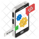 App Design Mobile App Development Smartphone Applications Icon