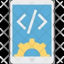 Mobile App Development Mobile Div Mobile With Cog Icon